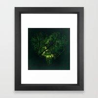 Heart of Darkness Framed Art Print