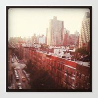 The Upper East Side (An … Canvas Print