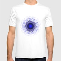 Circle Study No. 471 Mens Fitted Tee White SMALL