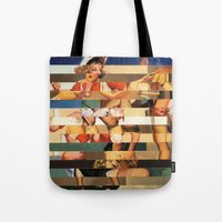 Glitch Pin-Up Redux: Oli… Tote Bag