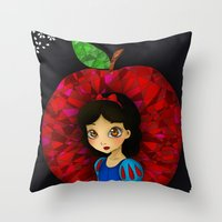 Ruby. Throw Pillow