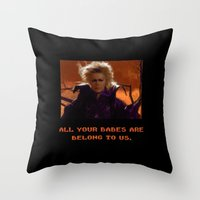All Your Babes Throw Pillow