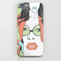 iPhone & iPod Case featuring The face by Tshirtbaba