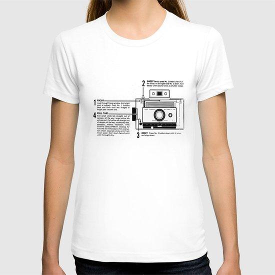 Polaroid Land Camera  T-shirt