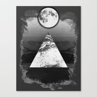 Upper Mind Canvas Print
