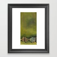Tree Canopy Framed Art Print