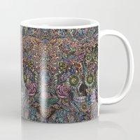 Sensory Overload Skull in Pastels Mug