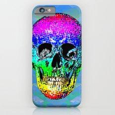 Skull disco rainbow Slim Case iPhone 6s