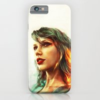 woman iPhone & iPod Cases featuring When the Sun Came Up by Alice X. Zhang