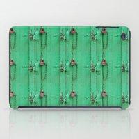 Lock on a Green Door iPad Case