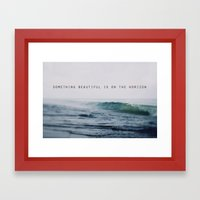Something Beautiful Framed Art Print