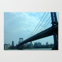 Bridge The Gap Canvas Print