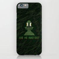 Are we monsters? iPhone 6 Slim Case
