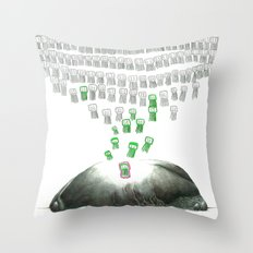 Great Job Throw Pillow