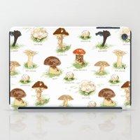 Edible Mushrooms iPad Case