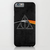 the darkside of the deathly hallows iPhone 6 Slim Case