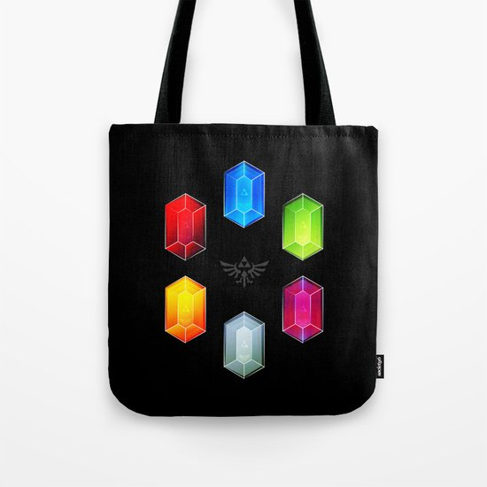 Zelda Just Want Them Rupees Tote Bag