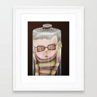 Bottled Framed Art Print