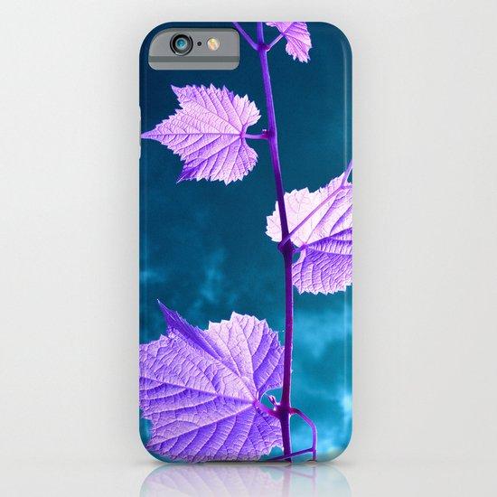 violet wine leafs II iPhone & iPod Case
