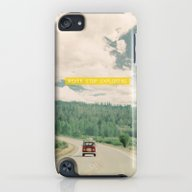 NEVER STOP EXPLORING - V… iPod touch Slim Case