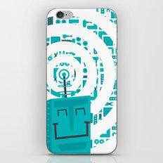 Little Robot  iPhone & iPod Skin