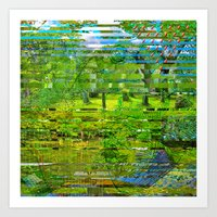 Landscape of My Heart (4 as 1) Art Print