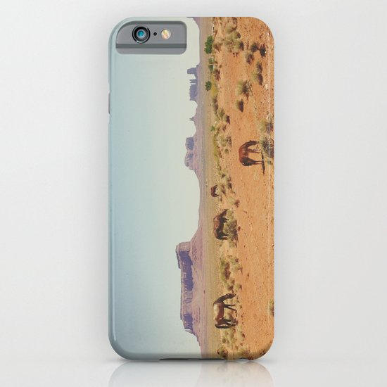 Grazing The Desert iPhone & iPod Case
