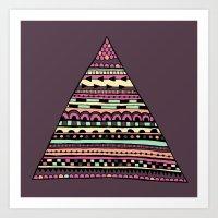 Triangle Trinket Art Print
