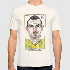 ZLATAN Mens Fitted Tee Natural SMALL