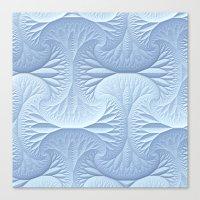 Snow Drifts Canvas Print