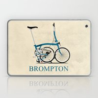 Brompton Bike Laptop & iPad Skin