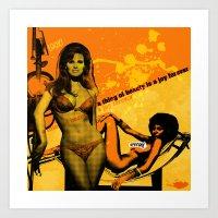 Sexy 70s Art Print