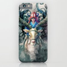 Ashitaka Demon Watercolor Digital Painting Slim Case iPhone 6s