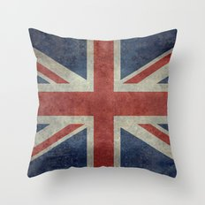 Union Jack  (3:5 Version) Throw Pillow