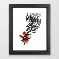 Another Long Fall Framed Art Print