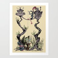 Tree Fun! Art Print