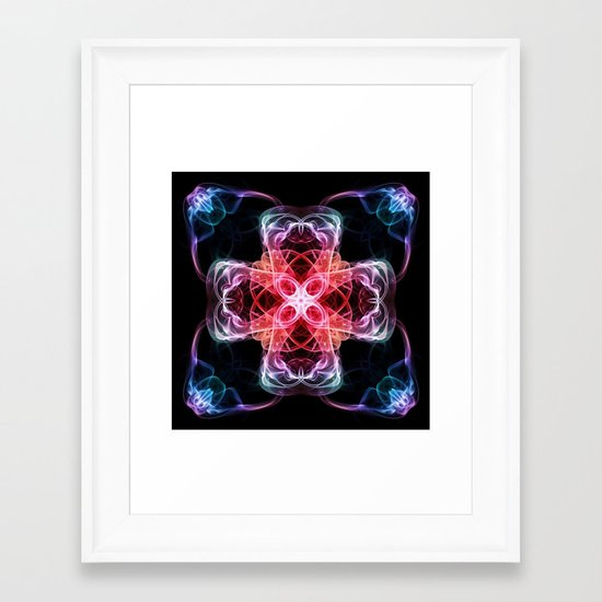 Smoke Art 77 Framed Art Print