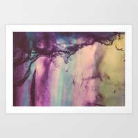 Purple Fluorite From Our… Art Print
