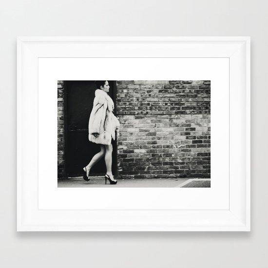 Russian Winter III Framed Art Print