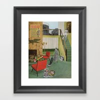 (Acting Like) Some Kind Of Fifties Housewife I Framed Art Print