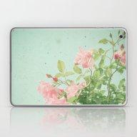Pink Roses Laptop & iPad Skin