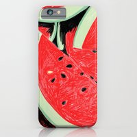 iPhone & iPod Case featuring Watermelon, 2013. by Tiffany Horan