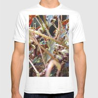 Dragon Fight    [PLANTS]… Mens Fitted Tee White SMALL