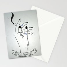 Dirty - Chills That Kill Stationery Cards