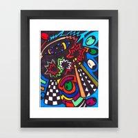 BOSA NOVA TIME Framed Art Print