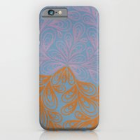 iPhone & iPod Case featuring Beige and Orange by Sarah J Bierman