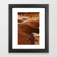 fourteen and counting. Framed Art Print