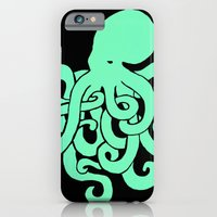 iPhone & iPod Case featuring Octopus by Kailah O.