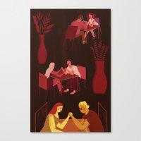 Harsh Realities Of Relat… Canvas Print