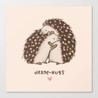 Hedge-hugs Canvas Print